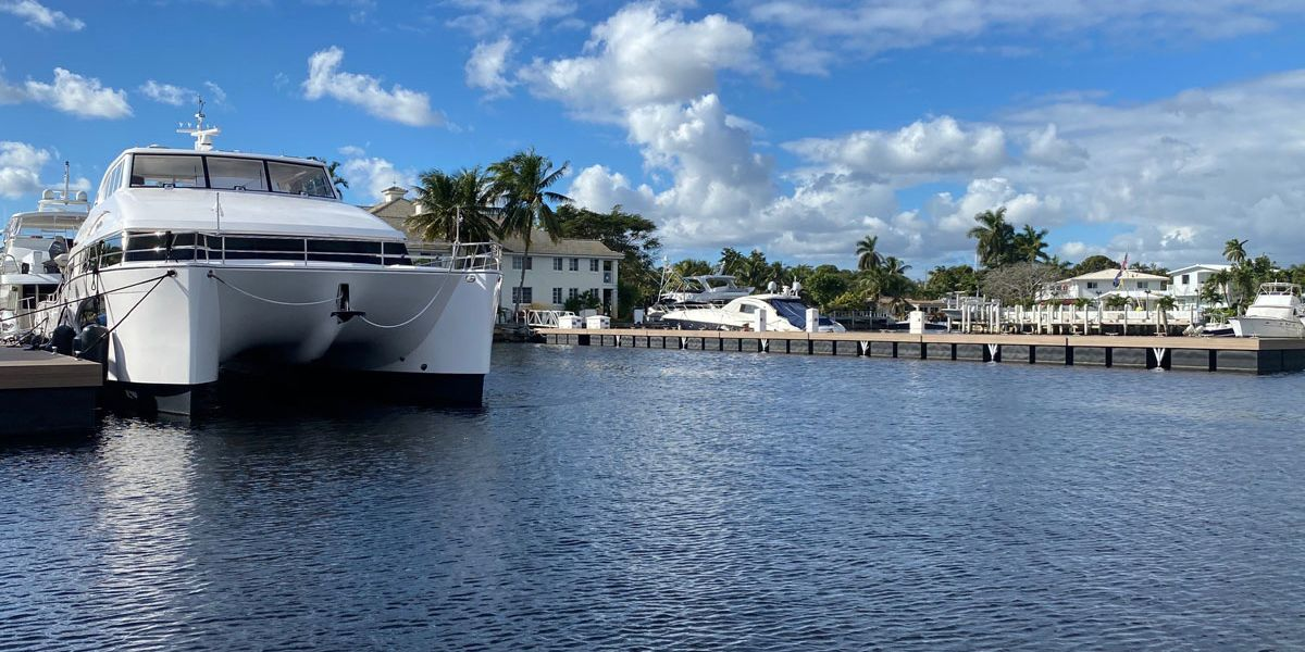 What are the maintenance tasks for every marina